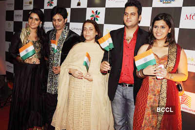 Celebs @ Manali Jagtap's show