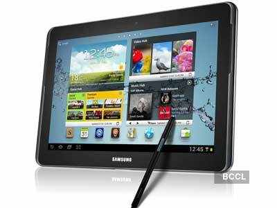 Samsung launches Galaxy Note 10.1