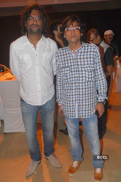 Mahesh Manjrekar's b'day party