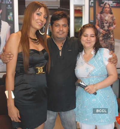 Pooja visits Radiance Spa & Salon