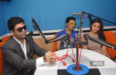 'Student Of The Year' radio promotions