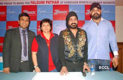 Falguni's 'Navratri' press meet