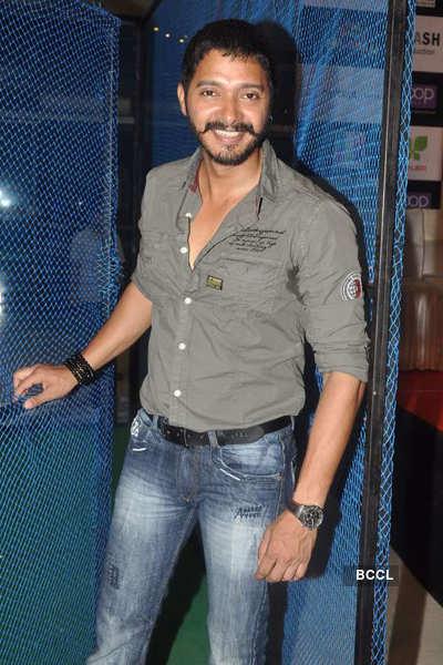 Shreyas, Madhurima @ movie promotion