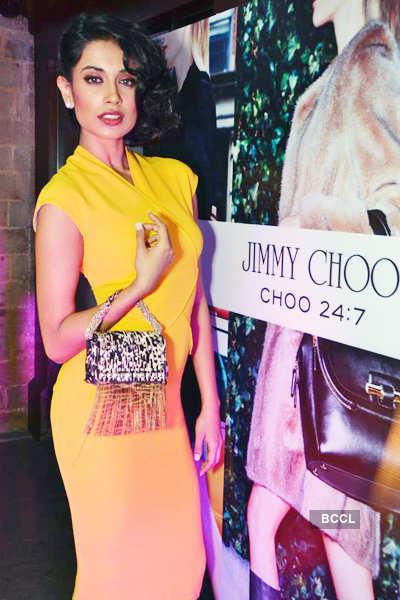 Celebs @ 'Jimmy Choo' store launch