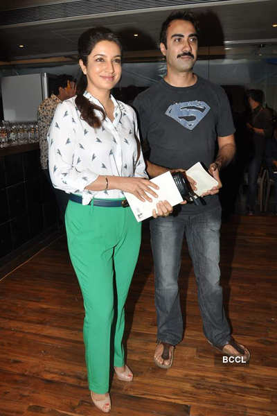 Minty Tejpal's book launch