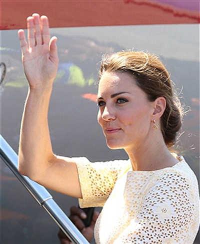 Kate has best celeb hair!