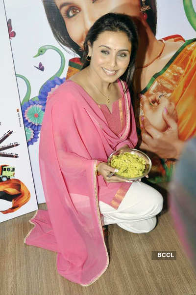 Rani at 'Aiyyaa' promotions