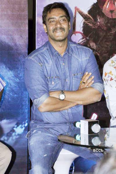 Ajay promotes 'Makkhi'