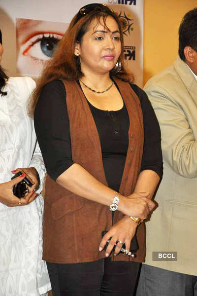 Amrita, Vivek at eye camp