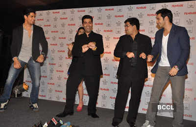 'SOTY' cast launch Filmfare cover