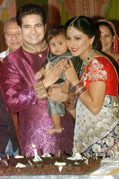 On the sets: 'Yeh Rishta Kya..'