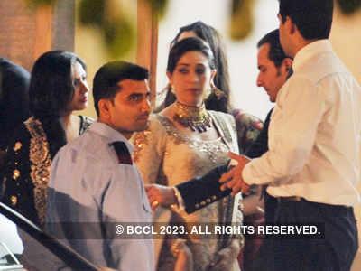 Saif-Kareena's wedding reception part-1