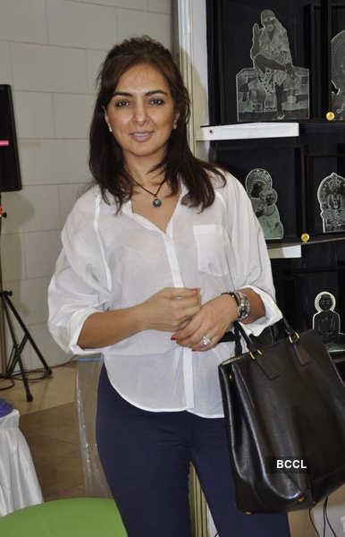 Celebs @ Araish exhibition