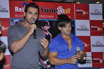 John launches Yash Birla's fitness DVD
