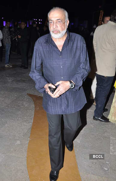 Pahlaj Nihalani's son's wedding reception