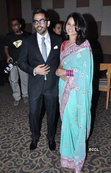 Pahlaj Nihalani's son's wedding reception