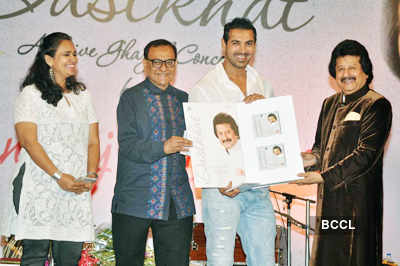 Pankaj Udhas's album launch
