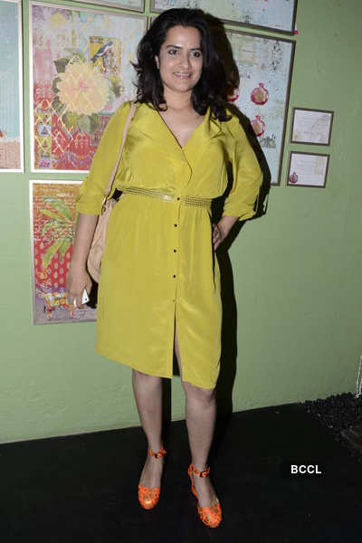 Farah Baksh's collection launch