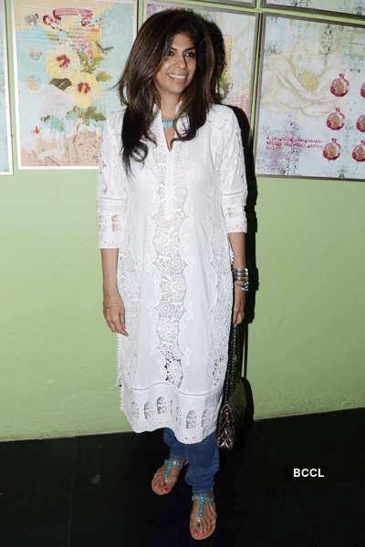 Farah Baksh's collection launch