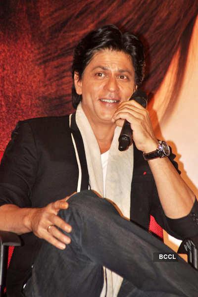 SRK, Kat, Anushka @ 'JTHJ' meet