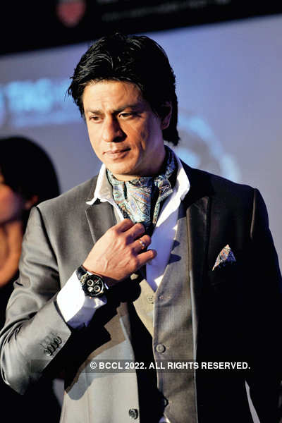 It's all about watching Shah Rukh