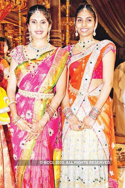Vishnu & Shweta's wedding bash