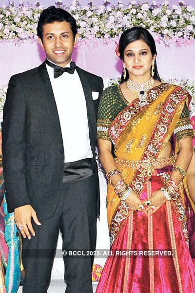 Vishnu & Shweta's wedding reception