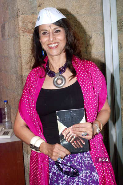 Shobhaa De's book launch