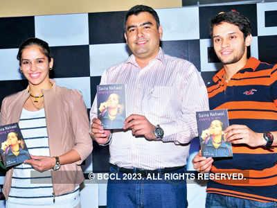 Saina Nehwal releases autobiography
