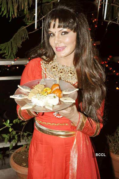 Rakhi Sawant celebrates Diwali