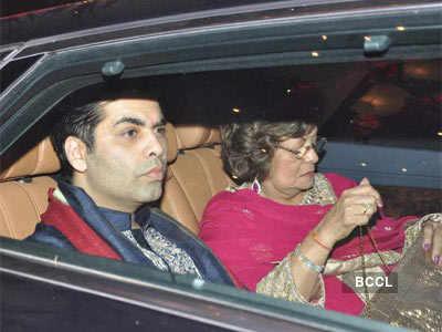 Celebs at Big B's Diwali party