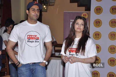 Abhi-Ash @ 'Magic Bus' event