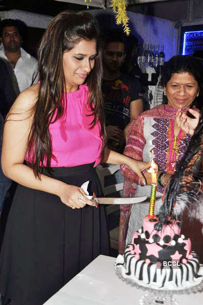 Manali Jagtap's b'day party