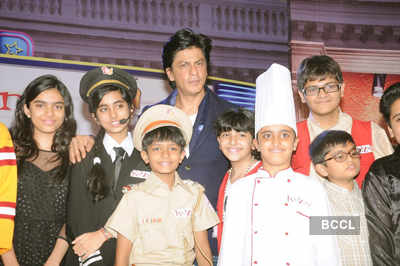 SRK @ 'KidZania' press meet