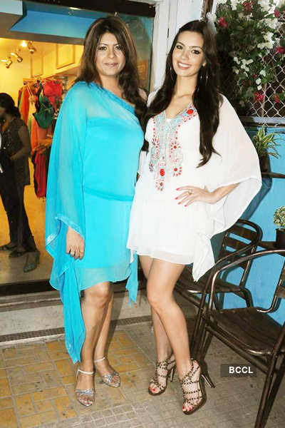 Rekha Damani's collection launch