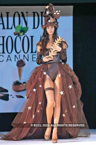 A chocolatey fashion show!
