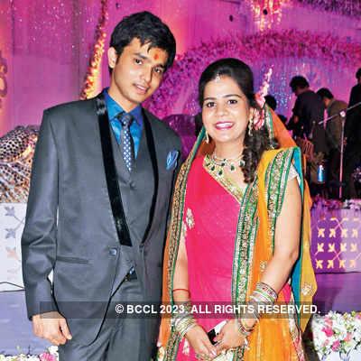 Eshan & Sakshi's sangeet ceremony