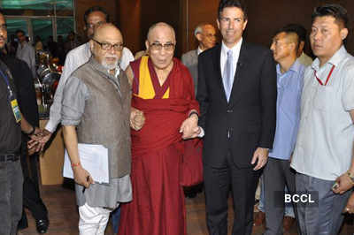 Celebs @ Dalai Lama convention