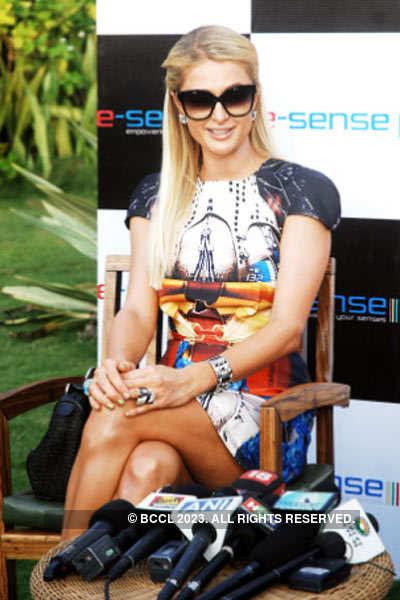 Paris Hilton in Goa