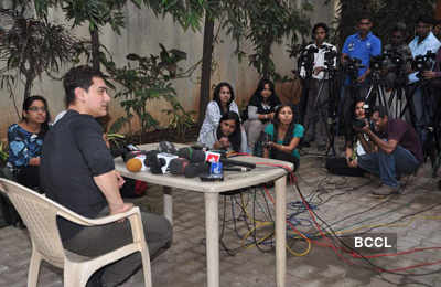 Aamir @ 'Talaash' success meet