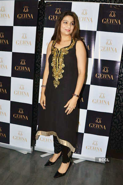 Shaina NC's jewellery launch