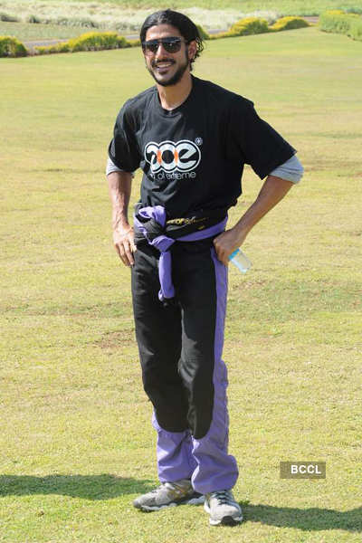 Farhan at Skydiving event