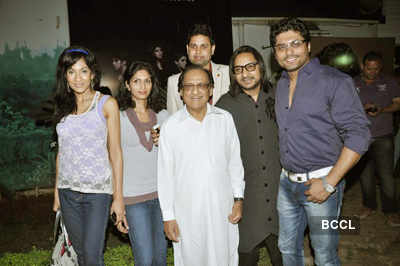 Ghulam Ali's b'day party