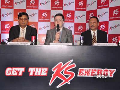 KS energy drink launch
