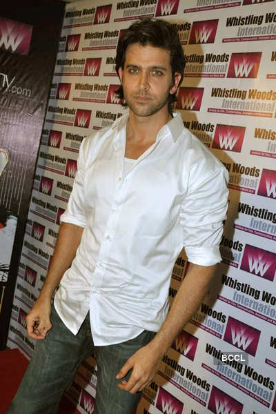 Hrithik at an event