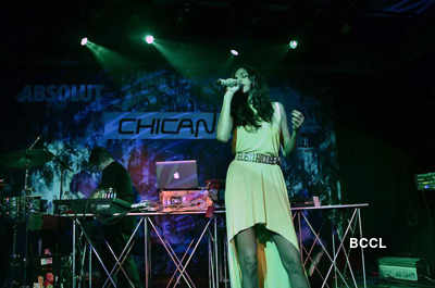 Anushka performs with Chicane