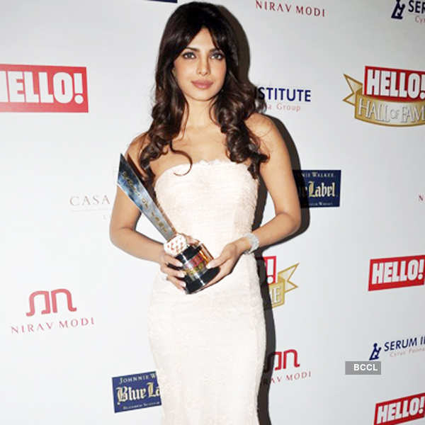 Hello Hall Of Fame Awards'12