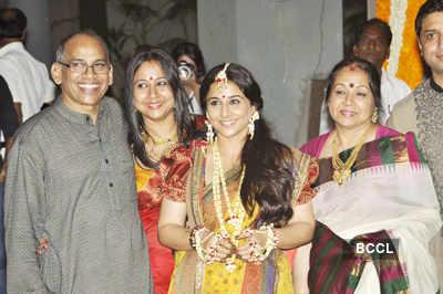 Vidya Balan's mehndi ceremony