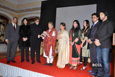 Ustad Amjad Ali Khan's book launch
