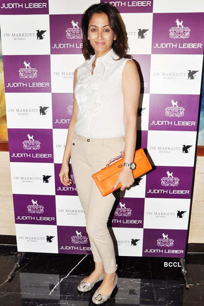 Celebs @ handbag collection launch